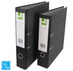 Q-Connect Black Foolscap Lever Arch File