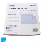 Rediform 2 part invoices sets