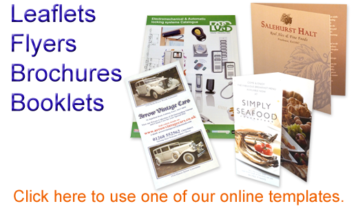 Leaflets Flyers Brochures and Booklet Printing