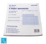 Rediform 2 part invoices sets
