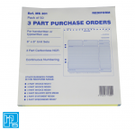 Rediform 3 Part Purchase Orders MS 301